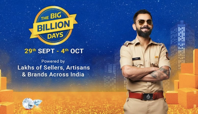 Electronics category sees 10% overall growth on Flipkart during Big Billion Days sale