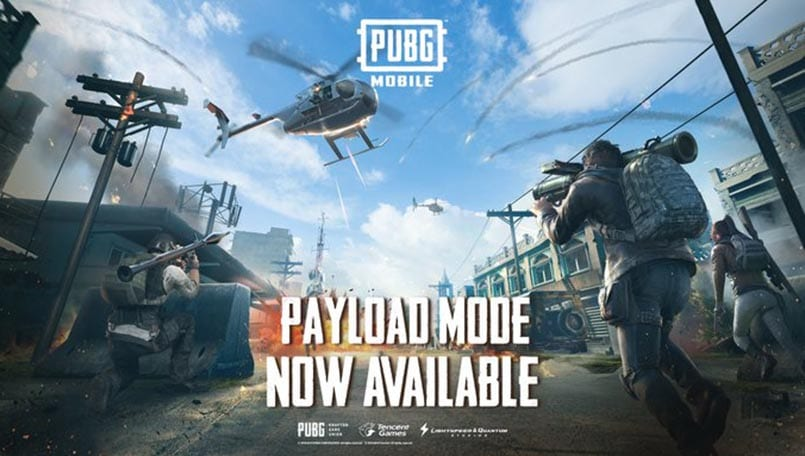 PUBG Mobile Payload Mode: All weapons you need to know about