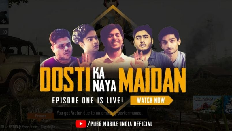 PUBG Mobile 'Dosti Ka Naya Maidan' Episode 1 is out: How to watch it