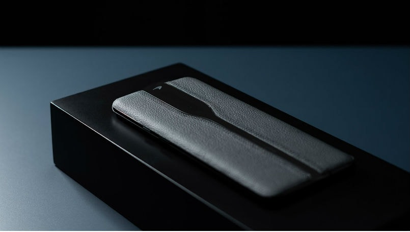 OnePlus Concept One prototype device showcased in all-black finish