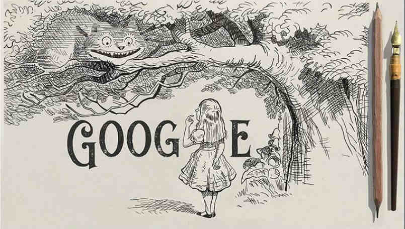 Google Doodle celebrates 200th birthday of John Tenniel, the 19th-century illustrator artist