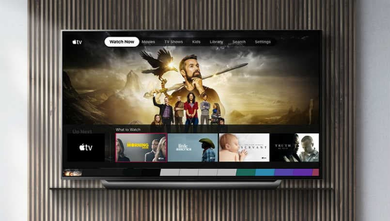 apple tv, apple tv+, lg tv, lg smart tv, apple airplay 2