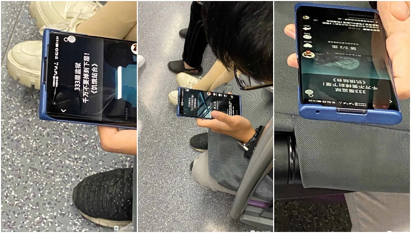 Honor 30 Pro reportedly spotted on subway in China, reveals pill-shaped notch
