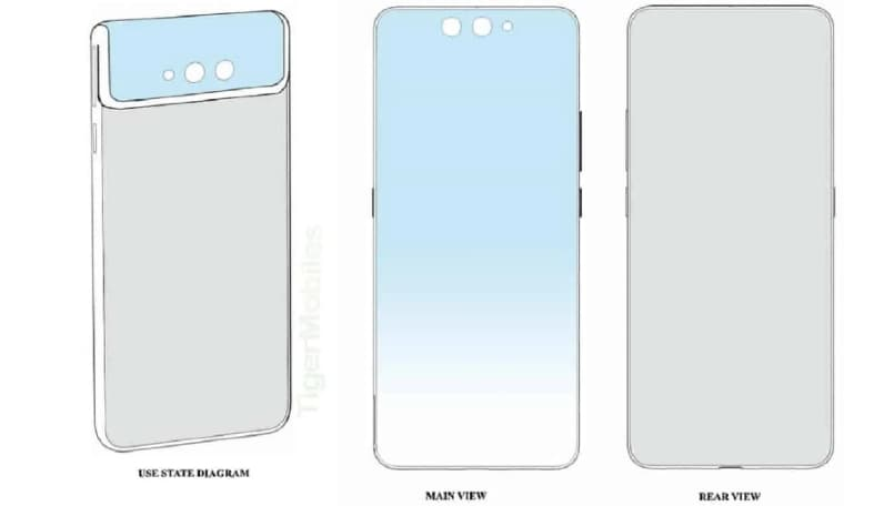 Xiaomi patents a clamshell phone with flip rear camera and second Mi MIX Alpha-like phone