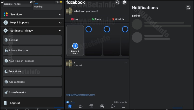 Facebook dark mode for iOS revealed in new leaked screenshots; check details