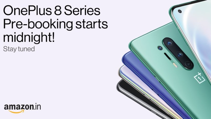 OnePlus 8 series pre-booking kicks off in India; check offers and how to get them