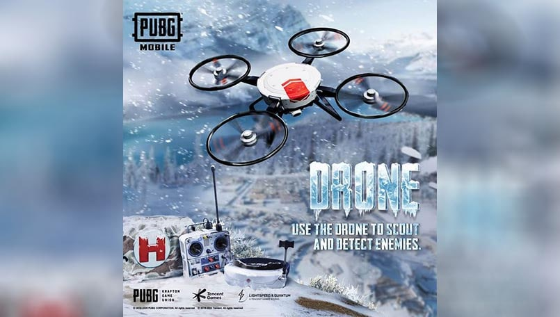 PUBG Mobile: 5 tips to improve drone game on Cold Front Survival