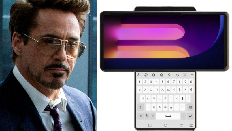 The futuristic LG Wing with a rotating dual-screen looks like a Tony Stark invention