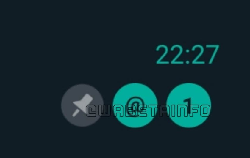 WhatsApp Mention Badge