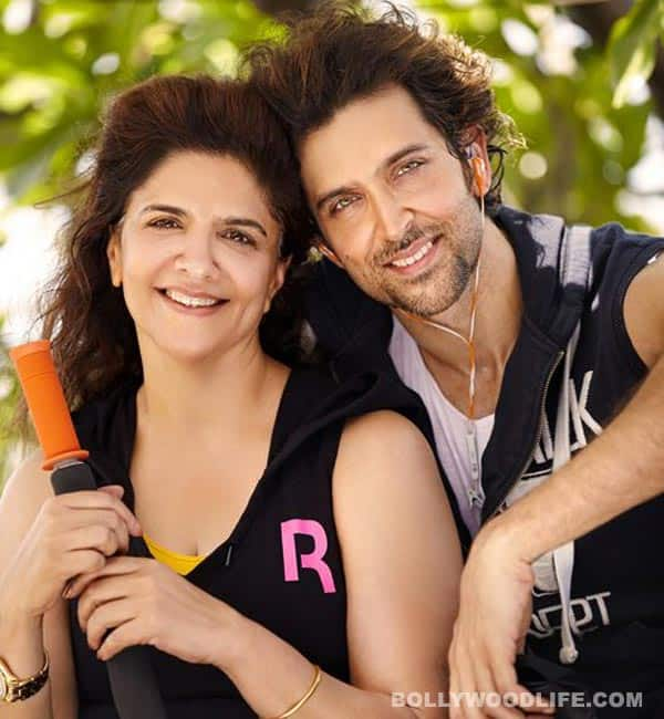 Hrithik Roshan and mother Pinky Roshan hit the gym together: View pics!