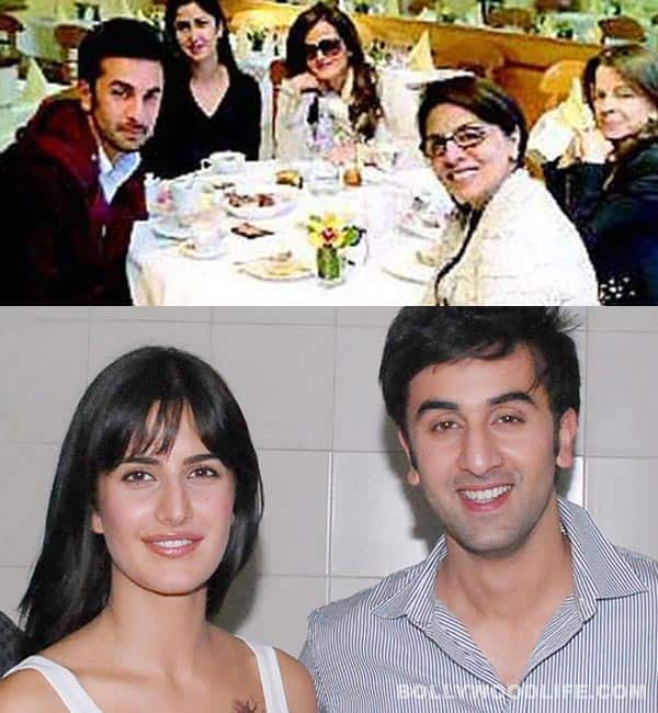 Katrina Kaif dines with Ranbir Kapoor and Neetu Singh!