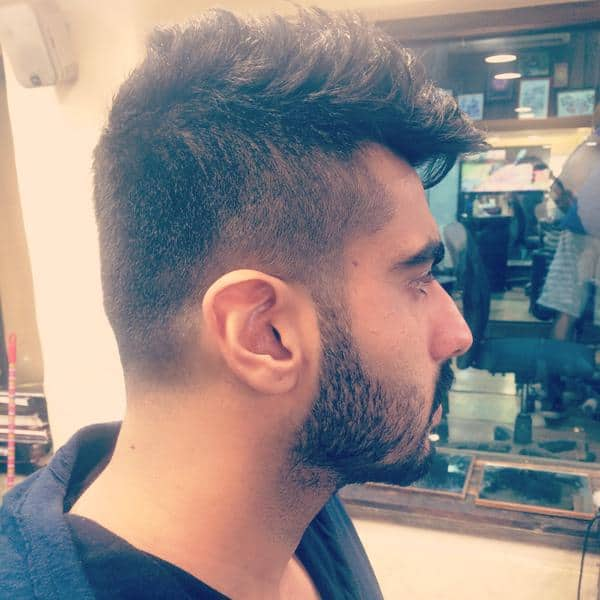 Arjun Kapoor Sports A New Look Is It For His Next Film