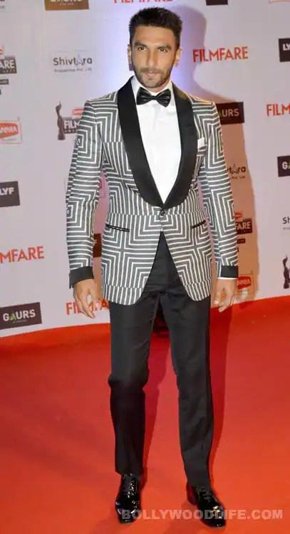 Image result for ranveer singh filmfare awards