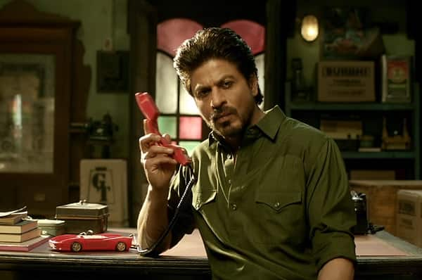 Image result for Shah Rukh Khan raees car phone