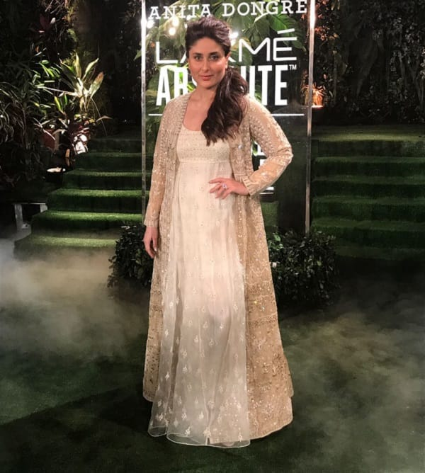 Lakme Fashion Week 2017 Grand Finale: Kareena Kapoor Khan looks dreamy as she ends Anita Dongre's show – view pics