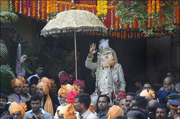 Image result for abhishek bachchan horse wedding