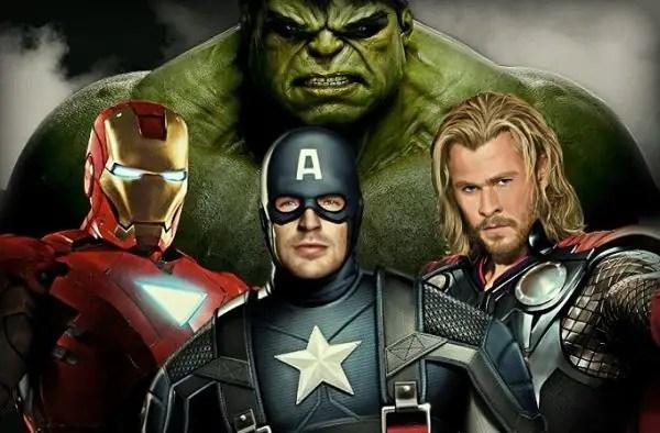 ironman captain america hulk