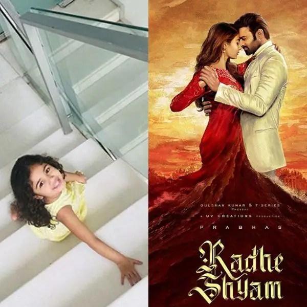 Prabhas-Pooja Hegde's Radhe Shyam first look released, Allu Arjun shares an adorable pic of daughter Arha 2