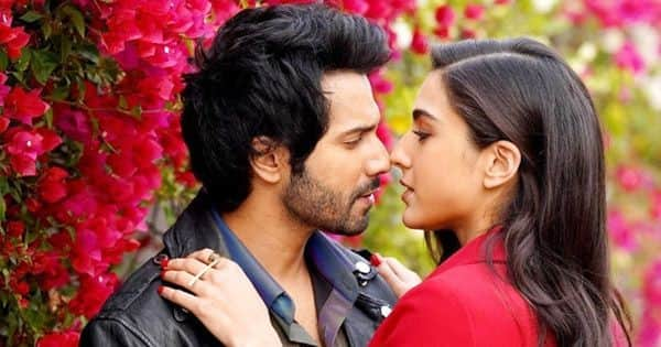Varun Dhawan and Sara Ali Khan launch Coolie No. 1 trailer looking all HAWT in black and red – view pics
