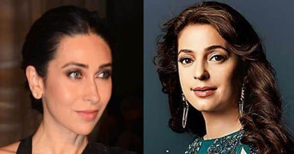 Did you know Karisma Kapoor REPLACED Juhi Chawla in these two blockbusters featuring Aamir Khan and Shah Rukh Khan?