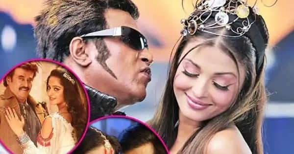 Thalaivar Rajinikanth showed his charisma while romancing these younger actresses