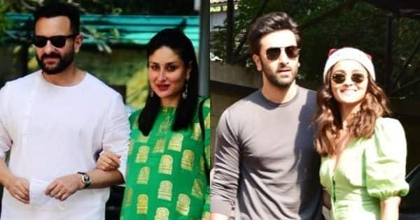 Ranbir Kapoor-Alia Bhatt, Aadar Jain-Tara Sutaria, Saif Ali Khan-Kareena and others make it memorable