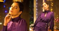 Ankita Lokhande celebrates 3 million Instagram followers with a pretty purple outfit – view pics