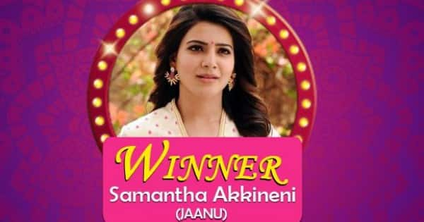 Samantha Akkineni beats Rashmika Mandanna to win the Best South Actress for Jaanu against Bheeshma — view poll results