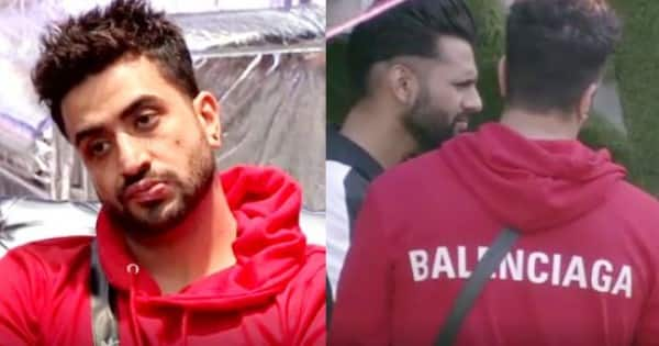 Aly Goni ups the style quotient as he flaunts an expensive Balenciaga red hoodie in Bigg Boss 14