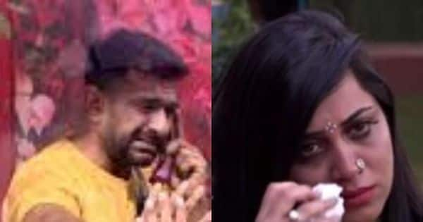 Aly Goni and Arshi Khan in tears after Eijaz Khan's exit announcement