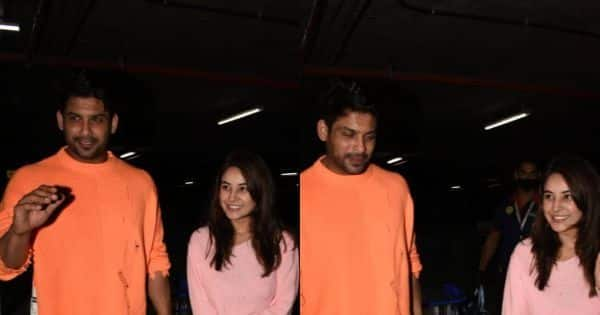 Sidharth Shukla and Shehnaaz Gill get clicked at Mumbai airport after spending New Year's in Goa — view pics