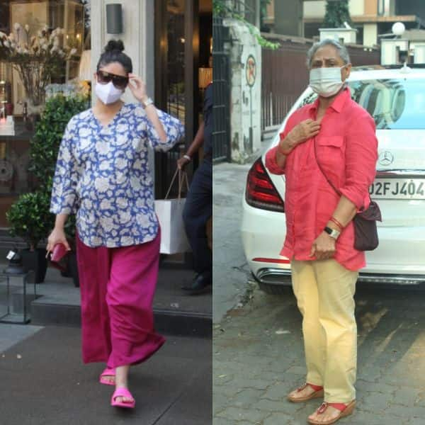 Spotted: Kareena Kapoor seen in Juhu, Jaya Bachchan gets angry at photographers