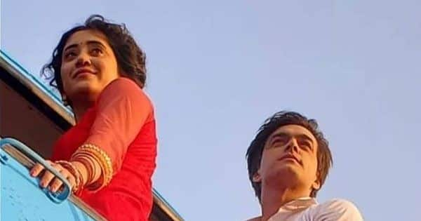 Mohsin Khan and Shivangi Joshi share BTS pictures from their last scenes together
