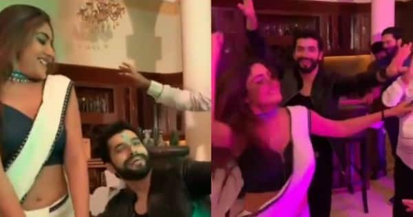 Surbhi Chandna and the Naagin 5 actor do bhangra as they celebrate his special day on the sets — watch video