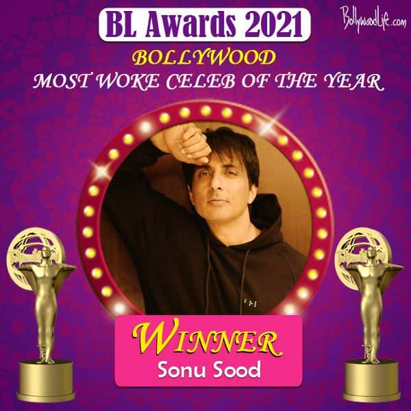 Most Woke Celeb of the year - Sonu Sood