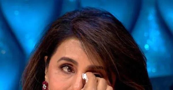 Neetu Kapoor sees Rishi Kapoor in contestant Danish