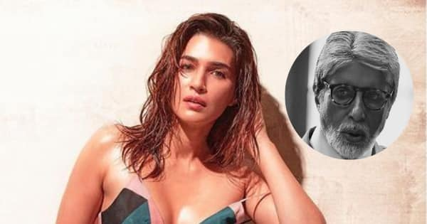 Amitabh Bachchan's comment on Kriti Sanon's hot picture invites a memefest and MAJOR trolling — view tweets