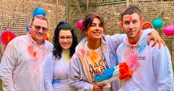 Priyanka Chopra celebrates the festival with husband Nick Jonas and her in-laws in London – view pics