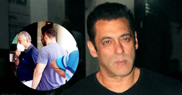 Tiger 3 actor Salman Khan takes his first covid-19 vaccine; shares update with fans