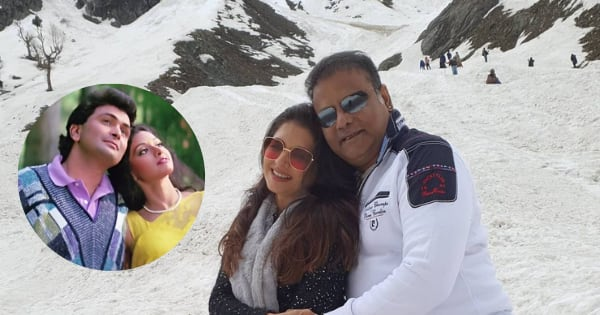 Bhagyashree and husband Himalaya grooving to Sridevi-Rishi Kapoor's ICONIC Chandni song is the BEST video on the internet today