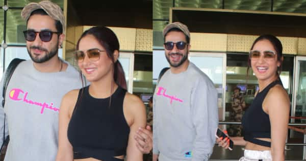Lovebirds Aly Goni and Jasmin Bhasin jet off for another couple vacation — view pics
