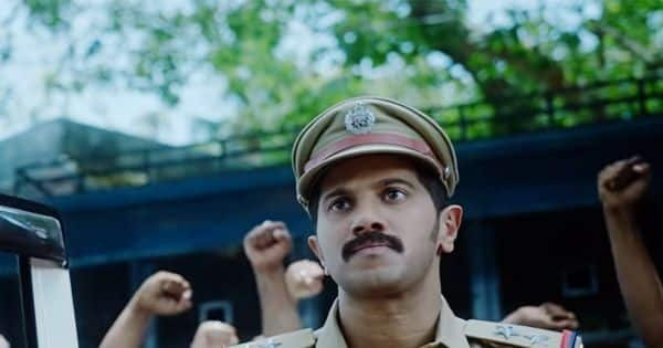Dulquer Salmaan aces the character of an intense and no-nonsense cop