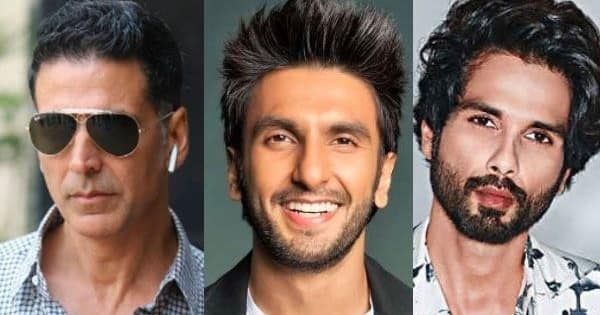 From Shahid Kapoor to Akshay Kumar to Ranveer Singh – know the first jobs of these Bollywood actors before they became famous