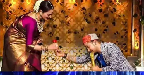 Pawandeep Rajan woos veteran actress Rekha with her romantic song