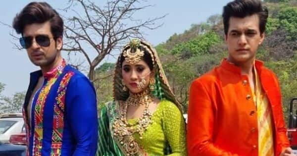 Shivangi Joshi, Mohsin Khan and Karan Kundrra's pictures from the Gangaur episode cannot be missed