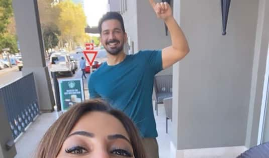 Nikki Tamboli and Abhinav Shukla's crazy pics from South Africa are BFF goals