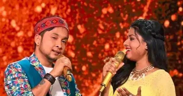 Pawandeep Rajan reportedly sings a romantic folk number for Arunita Kanjilal?, BTS' Kim Taehyung fans trend #7MHeartsForV