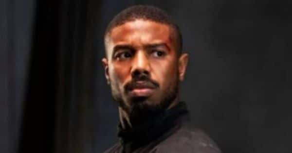 THIS action scene of Michael B. Jordan from the Tom Clancy hit with send your pulse racing and fists thumping