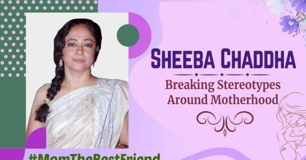 Sheeba Chaddha talks about how unreasonable it is to expect mothers to be perfect [EXCLUSIVE VIDEO]