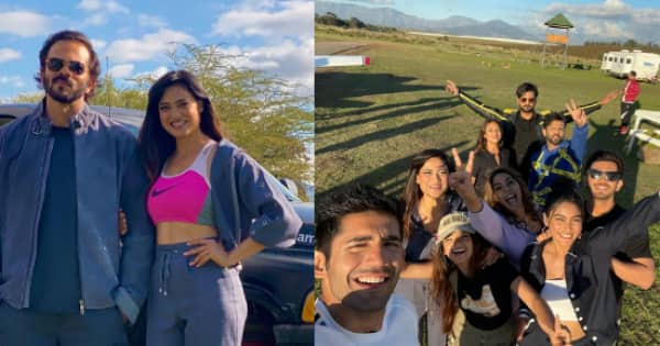 Shweta Tiwari poses with Rohit Shetty while others have fun in Cape Town – view pics